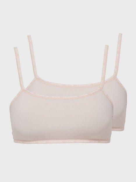 Calvin Klein Underwear Unlined Bralette 2PK Bandeau & soft-bra