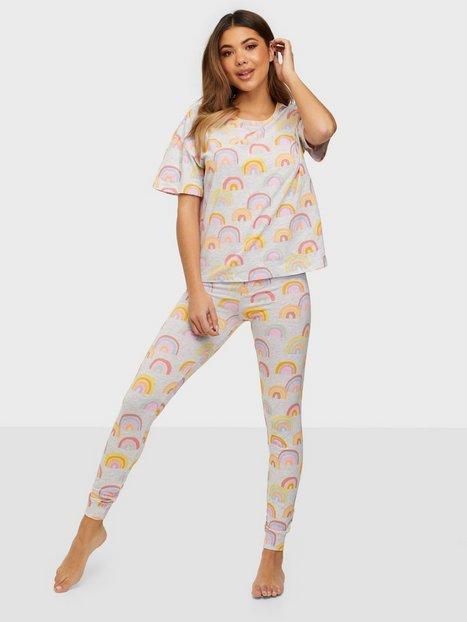 Lindex Night set SoU Josie Pyjamas & Mysplagg Light Grey Melange