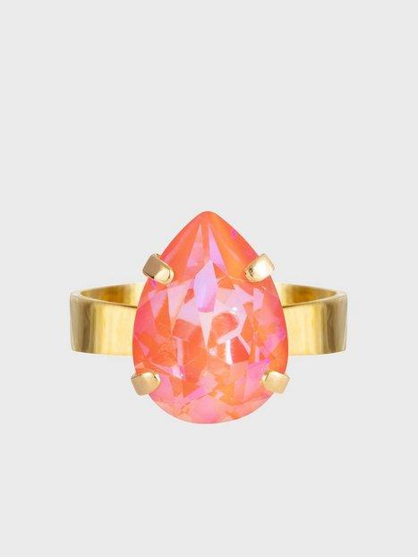 Caroline Svedbom Mini Drop Ring Gold Ringe