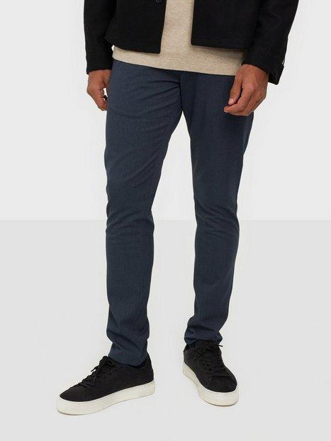 Tailored Originals Pants - TOFred Bukser Ombre Blue