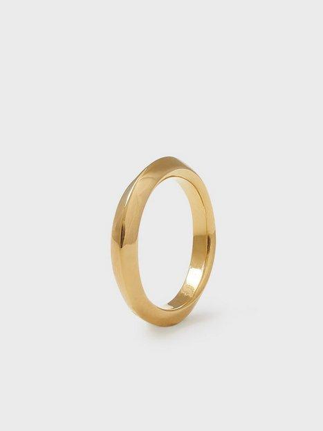 Blue Billie Thin Swirl Ring Ringar