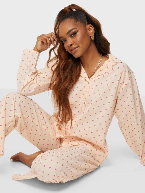 BECKSÖNDERGAARD Dot Pyjamas Set Pyjamasser & hyggetøj Bubblegum