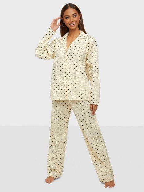 BECKSÖNDERGAARD Dot Pyjamas Set Pyjamasser & hyggetøj Whitecap Gray
