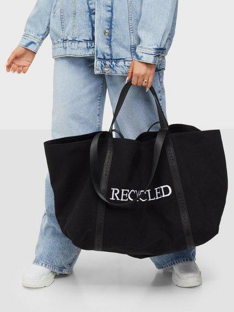 NuNoo Big bag recycled canvas Stof- & canvastasker