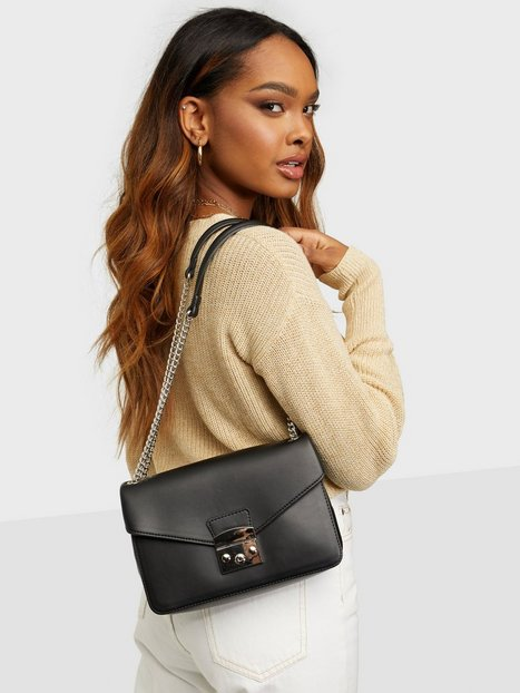 Unlimit Shoulder Bag Ella Skuldertasker Black