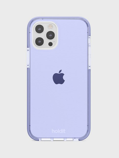 Holdit iPhone 12/12Pro Seethru Case Mobilcovere Lavender