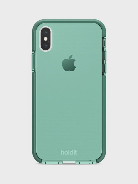 Holdit iPhone X/Xs Seethru Case Mobilcovere Green