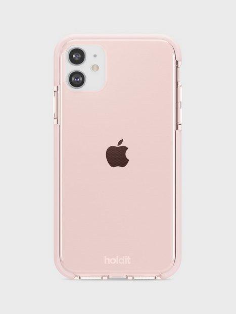 Holdit iPhone 11/XR Seethru Case Mobilcovere Pink