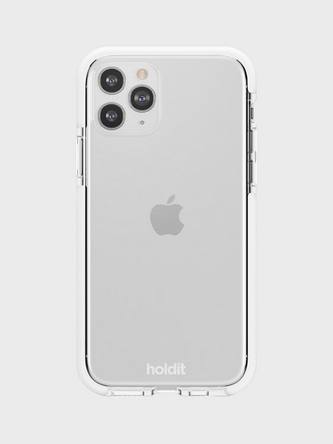 Holdit iPhone 11Pro Seethru Case Mobilcovere White