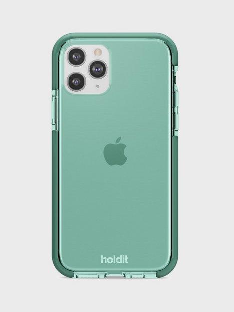 Holdit iPhone 11Pro Seethru Case Mobiltilbehør Green
