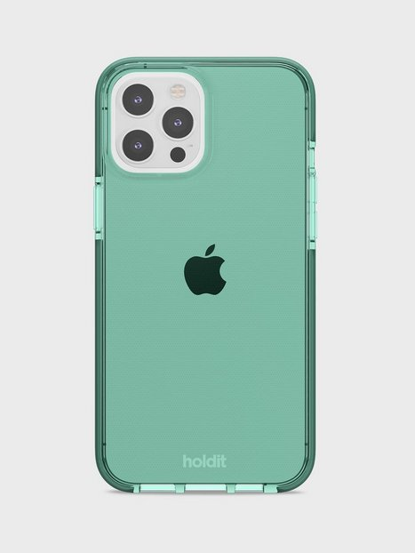 Holdit iPhone 12 Pro Max Seethru Case Mobilcovere Green