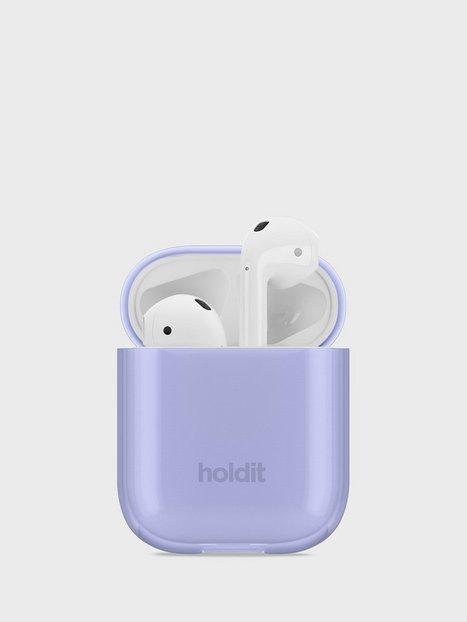 Holdit Seethru Case AirPods Hovedtelefoner Lavender