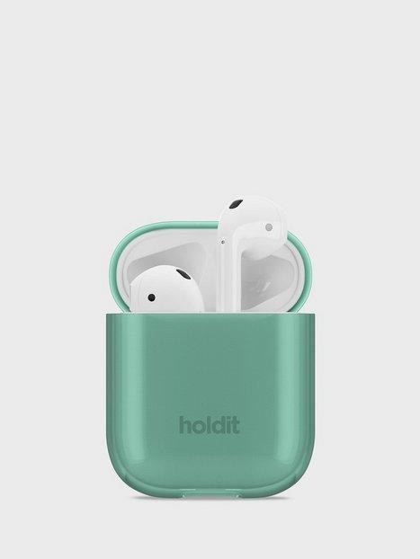 Holdit Seethru Case AirPods Hovedtelefoner Green