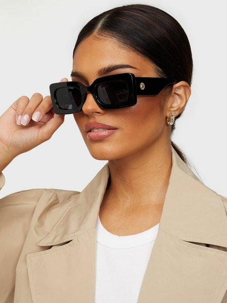 Le Specs Oh Damn! Solbriller Sort