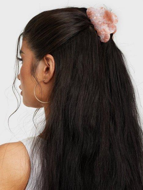 Bow19 Hair Clip Flower Håraccessoarer Pink