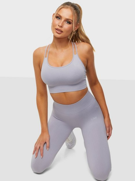 ICANIWILL Ribbed Define Seamless Sports Bra Sports-BH light support Violet