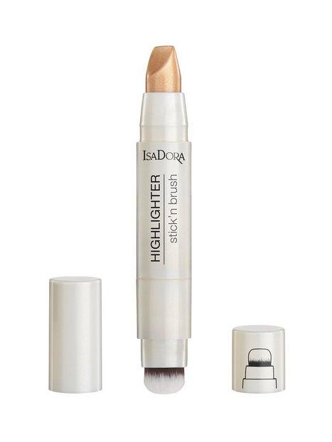 Isadora Highlighter Stick'n Brush Highlighter Bronze Shimmer