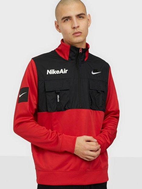 Nike Sportswear M Nsw Nike Air Jkt Hz Pk Jakker & frakker Red