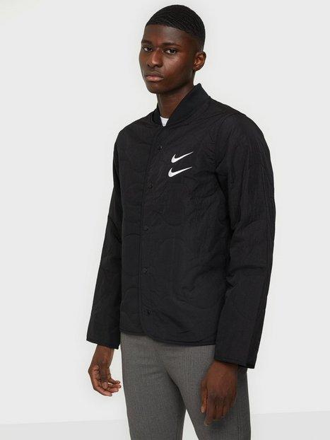 Nike Sportswear M Nsw Swoosh Jkt+ Quilted Jakker & frakker Black