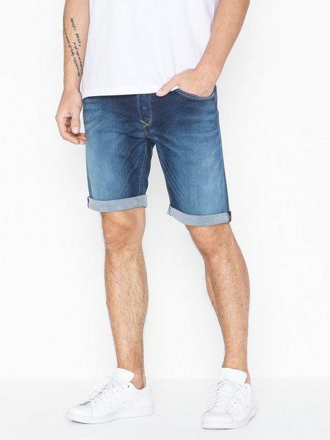 Replay MA981 Rbj 901 Shorts Medium Blue mand køb billigt