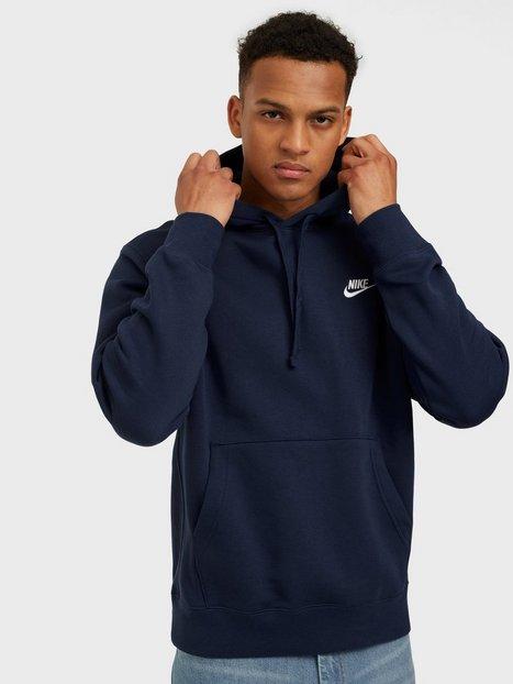 Nike Sportswear M Nsw Club Hoodie Po Bb Trøjer Navy
