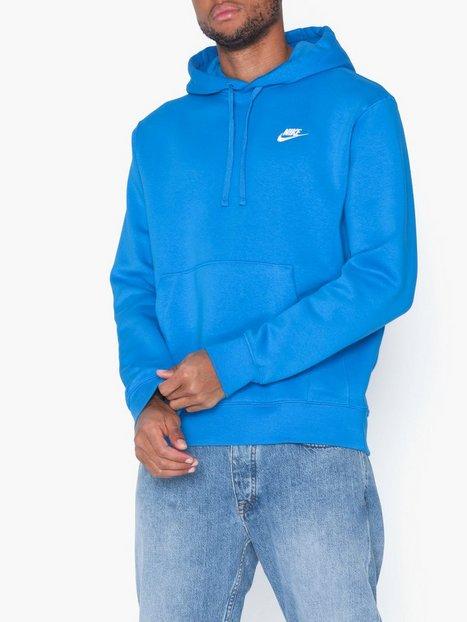 Nike Sportswear M Nsw Club Hoodie Po Bb Trøjer Blue - herre