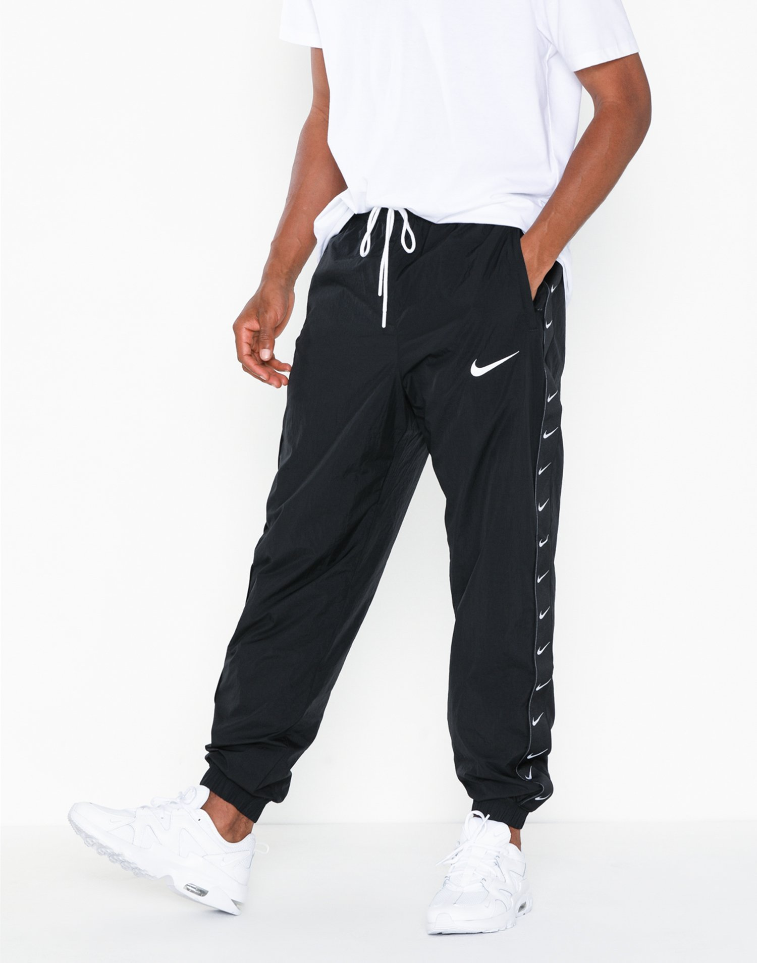 swoosh pants