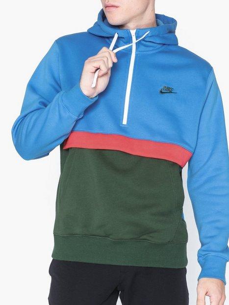 Nike Sportswear M Nsw Club Hoodie Hz Bb Trøjer Blå - herre
