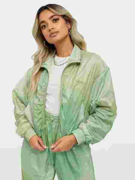 Köp Wood Wood Silke Track Jacket Green | Jackor