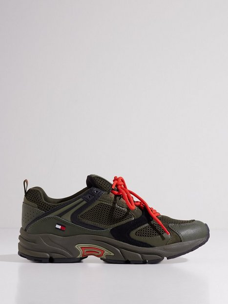 Tommy Jeans Archive Mix Runner Sneakers Green