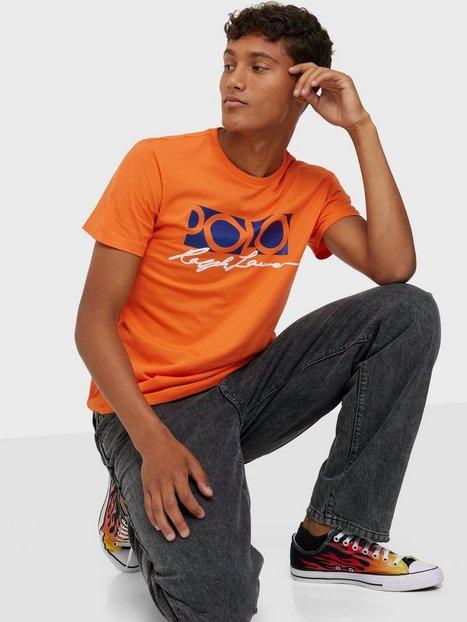 Polo Ralph Lauren Short Sleeve T-shirt T-shirts & undertrøjer Orange