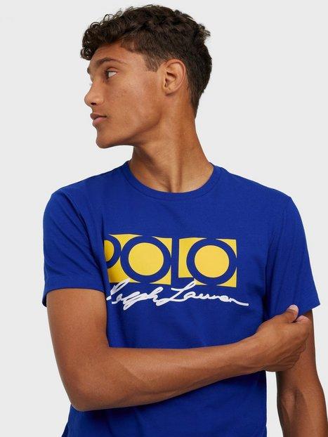 Polo Ralph Lauren Short Sleeve T-shirt T-shirts & undertrøjer Blue