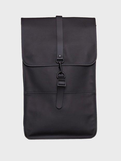 Rains Backpack Tasker Black - herre