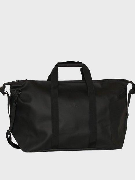 Rains Weekend Bag Tasker Black mænd køb billigt