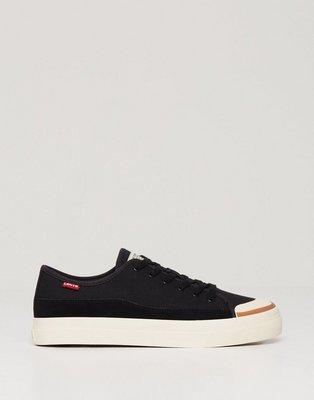 Levis Square Low Sneakers Black