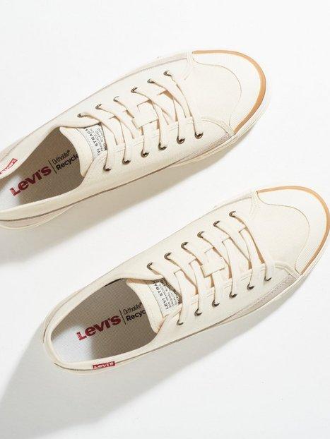 Levis Square Low Sneakers Ecru