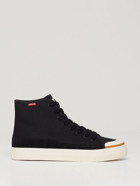 Se Levis Square High Sneakers Black ved NLY Man