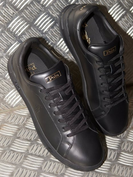 Polo Ralph Lauren Sneakers High Top Lace Sneakers Black