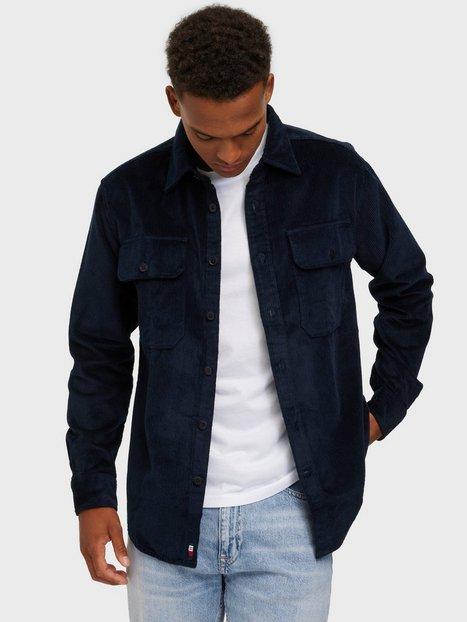 Tommy Hilfiger Corduroy Overshirt Skjorter Blue
