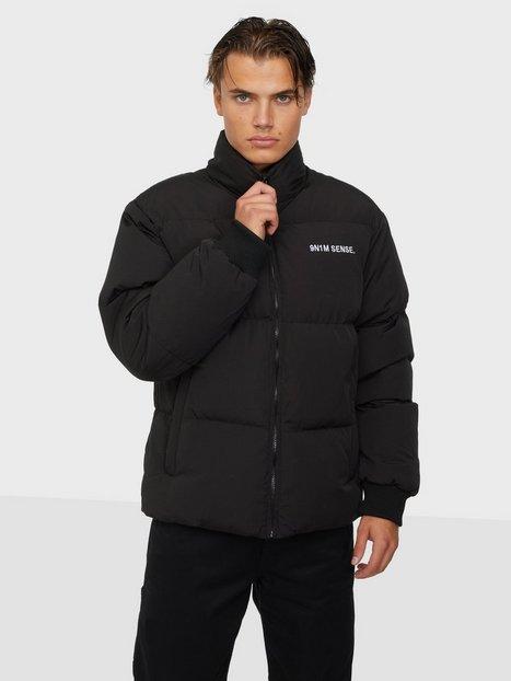 9N1M SENSE. SENSE Puffer Jacket Jakker & frakker Black