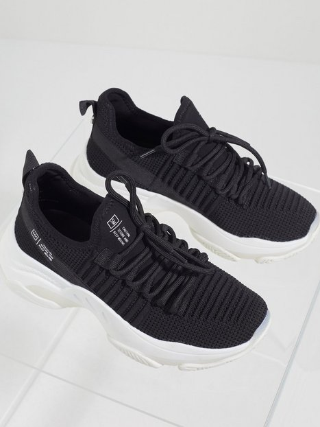 Steve Madden Mac Sneaker Low Top Jet Black