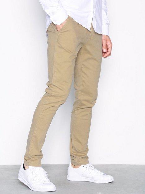 Tailored Originals Pants Rainford Bukser Beige - herre