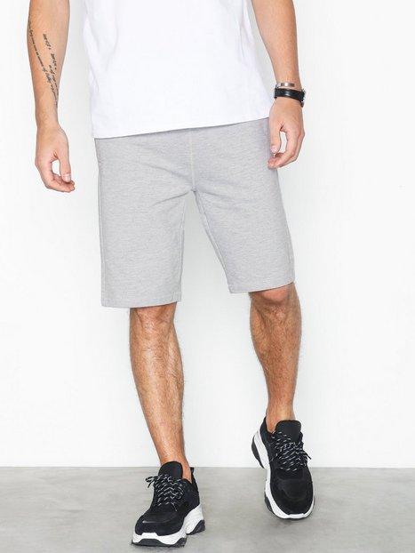 Solid Morgan Shorts Regular Shorts Grey - herre