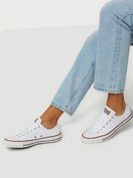 Converse All Star Canvas Ox Low Top Hvid