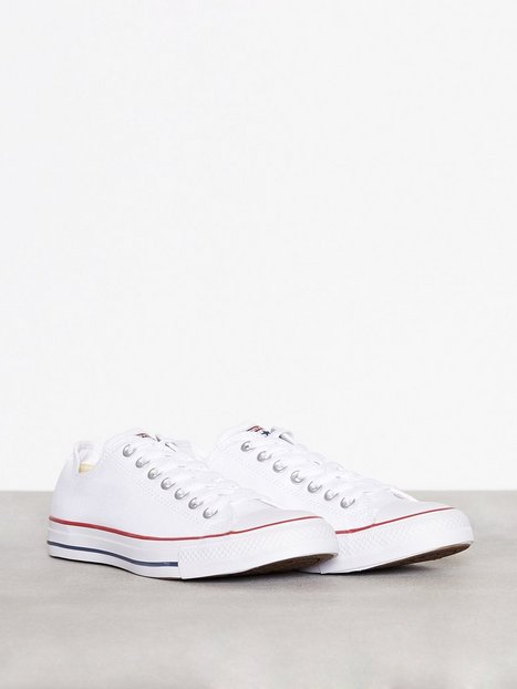 Converse All Star Canvas Ox Sneakers Hvid - herre