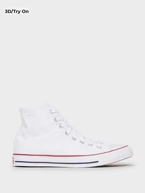 Converse All Star Canvas Hi Sneakers Hvid