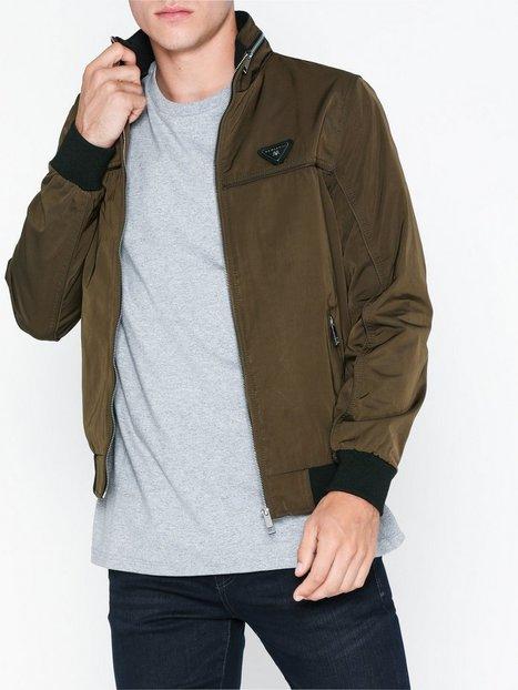 River Island Dyer Indoor Jacket Jakker frakker Khaki - herre