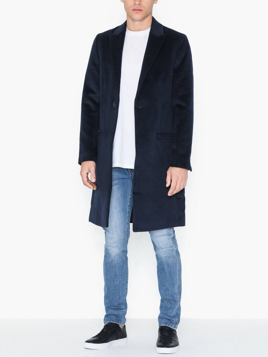 NAVY SB1 PEAK OVERCOAT
