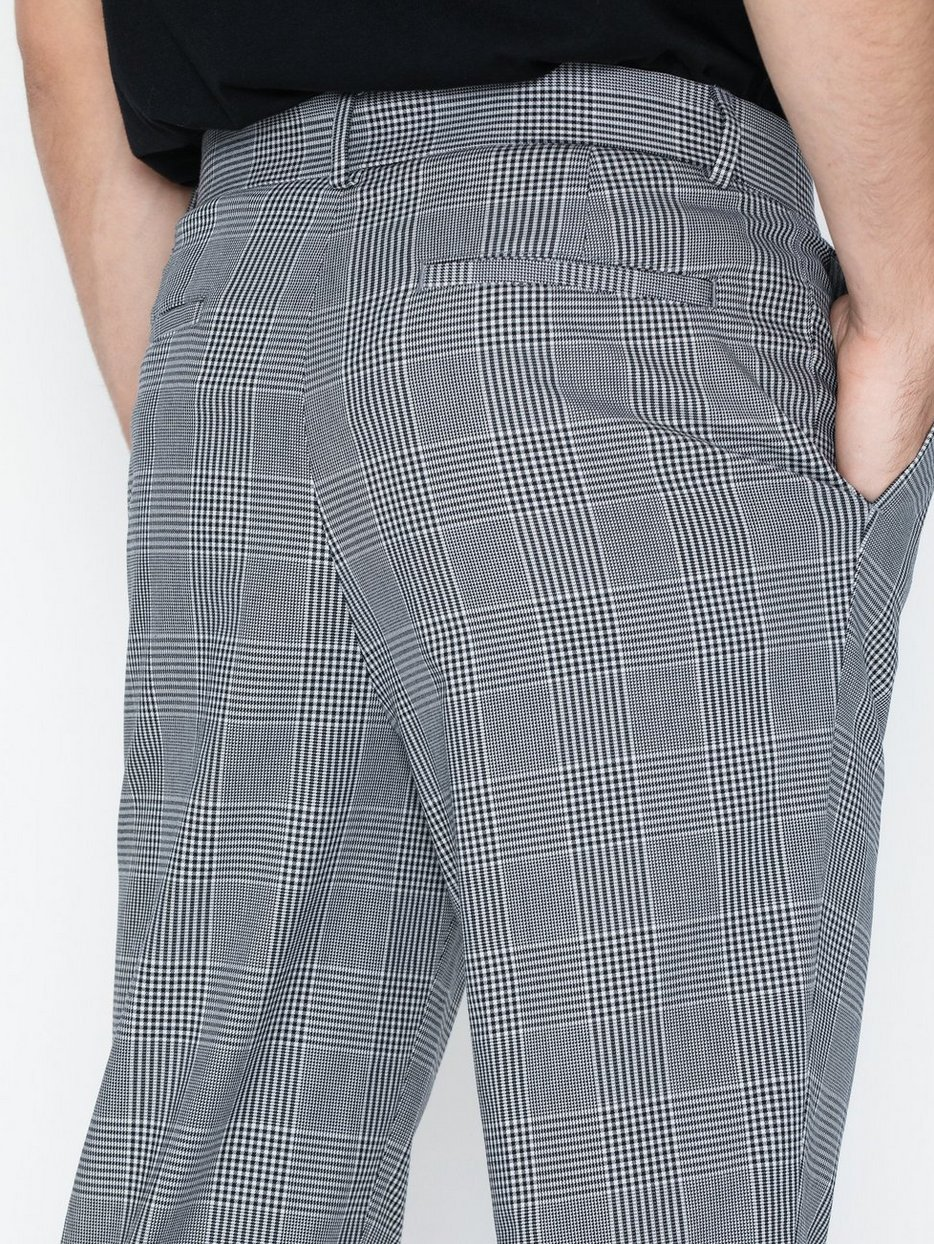 POW TAPERED CHECK TROUSER