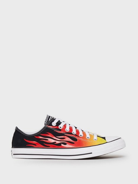 Converse Chuck Taylor All Star Canvas Sneakers Flame